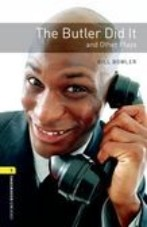 The Butler Did It  and other plays + audio-cd