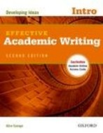 Effective Academic Writing Second Edition Introductory Student Book with Online Access Code