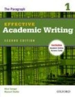 Effective Academic Writing Second Edition 1 Student Book with Online Access Code