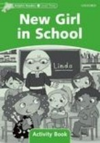 New Girl in School Activity Book
