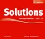 Solutions 2nd Edition Pre-Intermediate Class Audio CDs