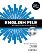 English File Third Edition Pre-Intermediate Workbook with Key