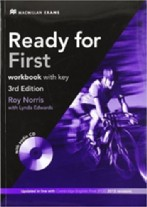 Ready for First workbook with key 3rd edition