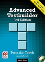 Advanced Testbuilder (for the 2015 exam) + key