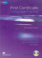 First Certificate Language Practice Engl Grammar + Vocabulary
