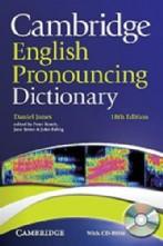 Cambridge English Pronouncing Dictionary Paperback + cd-rom