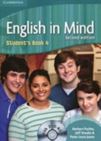 English in Mind 2nd Edition Level 4 Student's Book with DVD-ROM