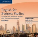 English for Business Studies Audio CD