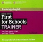 First for Schools Trainer Second edition Audio CDs (3)