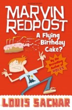 Marvin Redpost A Flying Birthday Cake?