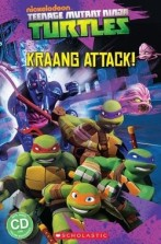 Teenage Mutant Ninja Turtles: Kraang Attack! + audio-cd