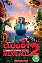 Cloudy with a Chance of Meatballs 2 + audio-cd