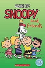 Peanuts: Snoopy and Friends + audio-cd