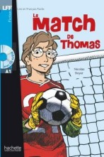 Le Match de Thomas + audio-cd