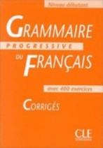 Grammaire Progressive du Francais débutant Corrigés