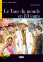 Le Tour du monde en 80 jours + audio-cd