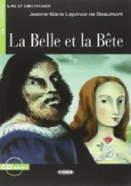 La belle et la bête + audio-cd