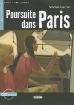 Poursuite dans Paris + audio-cd
