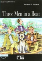 Three Men in a Boat + audio-cd