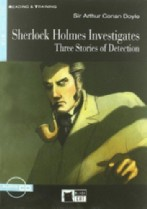 Sherlock Holmes Investigates: Three Stories of Detection + audio-cd