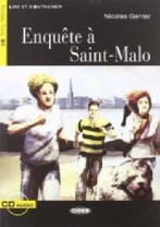 Enquête à Saint-Malo + audio-cd