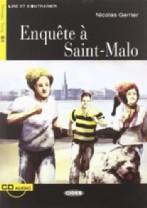 Enquête à Saint-Malo + audio-cd