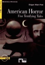 American Horror Five Terrifying Tales + audio-cd