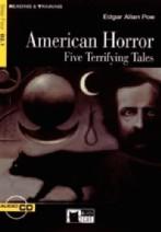 American Horror Five Terrifying Tales + audio-cd