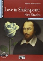 Love in Shakespeare: Five Stories + audio-cd
