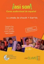 ¡así Son! Curso Audiovisual + Dvd (a2-b1)