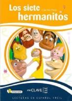 Lecturas Niños - Los Siete Hermanitos + Cd Audio