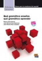 Qué Gramática Enseñar, Qué Gramática?