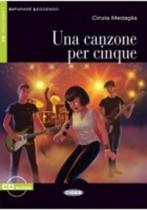 Una Canzone Per Cinque + Audio-cd